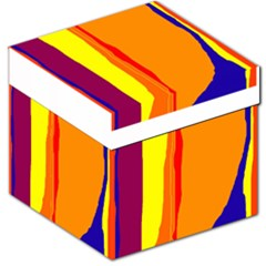 Hot colorful lines Storage Stool 12
