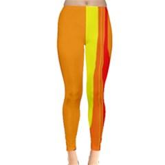 Hot colorful lines Leggings