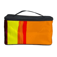 Hot colorful lines Cosmetic Storage Case