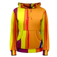 Hot colorful lines Women s Pullover Hoodie