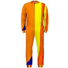 Hot colorful lines OnePiece Jumpsuit (Men)