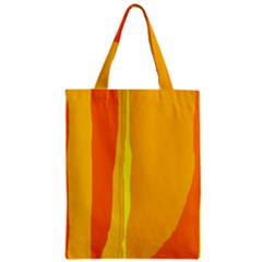 Yellow and orange lines Classic Tote Bag