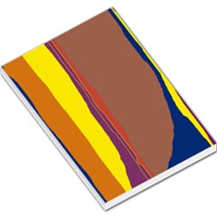 Colorful lines Large Memo Pads