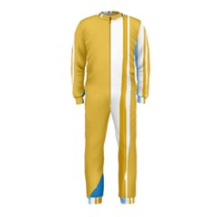 Blue and yellow lines OnePiece Jumpsuit (Kids)