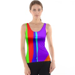 Colorful decorative lines Tank Top