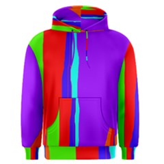 Colorful decorative lines Men s Pullover Hoodie