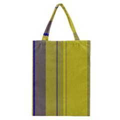 Green elegant lines Classic Tote Bag