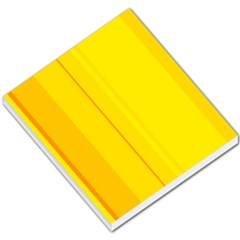 Yellow lines Small Memo Pads