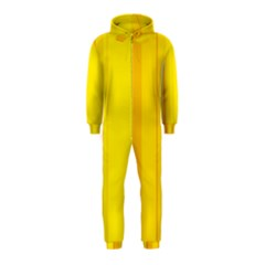 Yellow lines Hooded Jumpsuit (Kids)