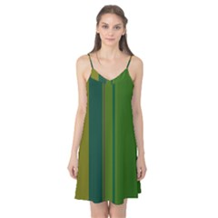Green elegant lines Camis Nightgown