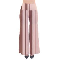 Elegant brown lines Pants