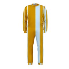 Yellow elegant lines OnePiece Jumpsuit (Kids)