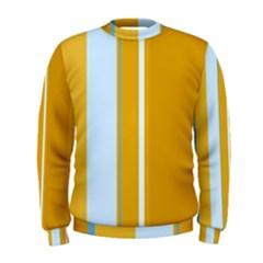 Yellow elegant lines Men s Sweatshirt