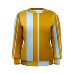 Yellow elegant lines Women s Sweatshirt