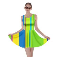Colorful lines Skater Dress