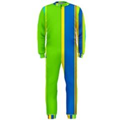Colorful lines OnePiece Jumpsuit (Men)