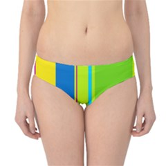 Colorful lines Hipster Bikini Bottoms