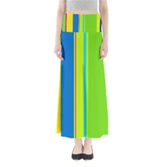 Colorful Lines Maxi Skirts