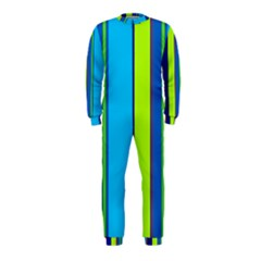 Blue and green lines OnePiece Jumpsuit (Kids)