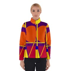 Orange abstract design Winterwear