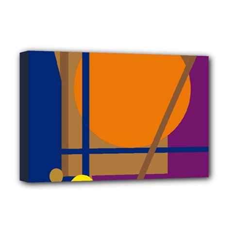 Decorative abstract design Deluxe Canvas 18  x 12