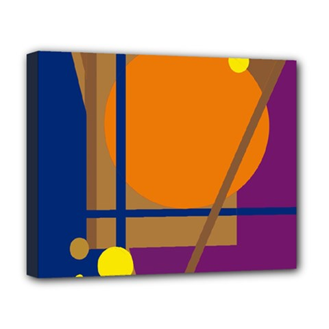 Decorative abstract design Deluxe Canvas 20  x 16