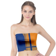 Decorative abstract design Tube Top