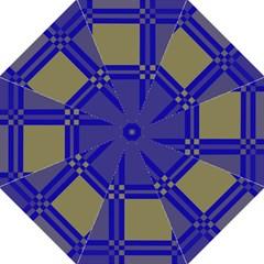 Blue design Straight Umbrellas