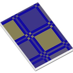Blue design Large Memo Pads