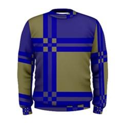 Blue design Men s Sweatshirt
