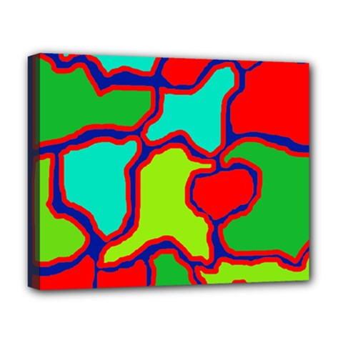 Colorful abstract design Deluxe Canvas 20  x 16
