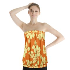 Sunny Hawaiian Strapless Top