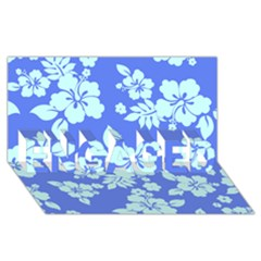 Hawaiian Sky ENGAGED 3D Greeting Card (8x4)