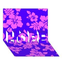 Hawaiian Evening Hope 3d Greeting Card (7x5)