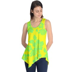 Bright Hawaiian Sleeveless Tunic