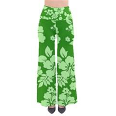 Green Hawaiian Pants