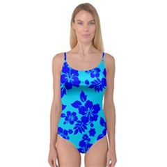 Hawaiian Ocean Camisole Leotard