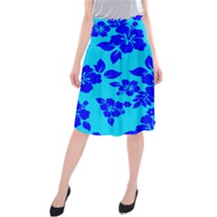 Hawaiian Ocean Midi Beach Skirt