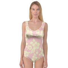 Pastel Hawaiian Princess Tank Leotard