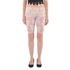 Pastel Hawaiian Yoga Cropped Leggings