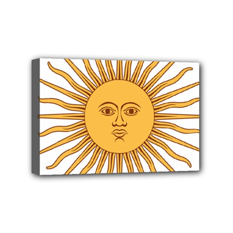 Argentina Sun of May  Mini Canvas 6  x 4