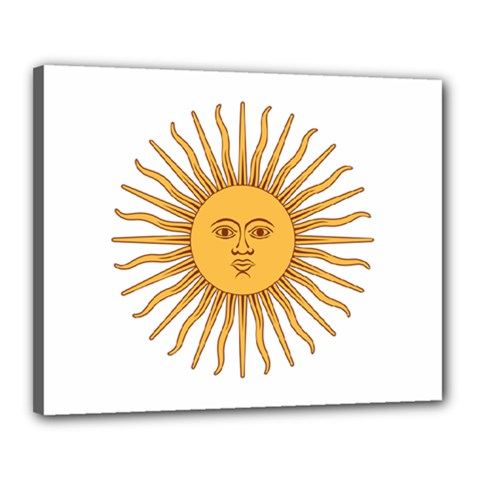 Argentina Sun of May  Canvas 20  x 16