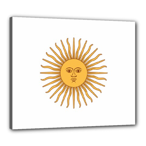 Argentina Sun of May  Canvas 24  x 20