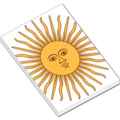 Argentina Sun of May  Large Memo Pads