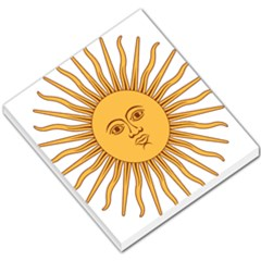 Argentina Sun of May  Small Memo Pads