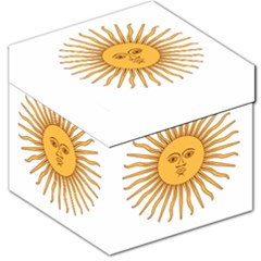 Argentina Sun of May  Storage Stool 12