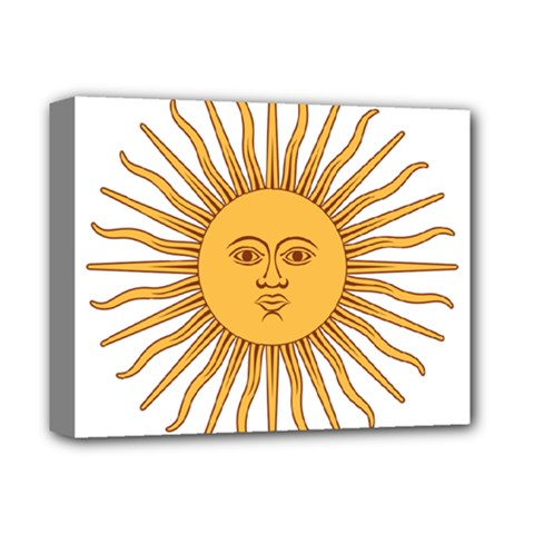 Argentina Sun of May  Deluxe Canvas 14  x 11