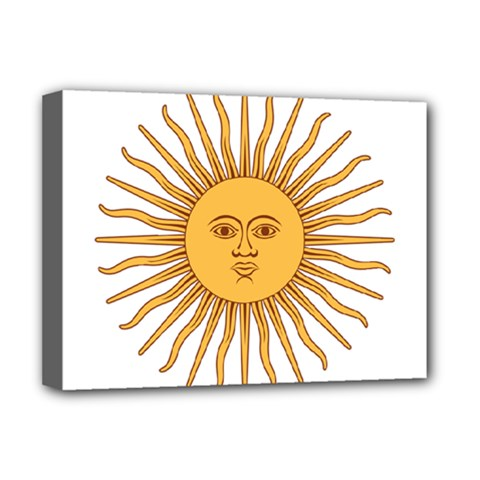 Argentina Sun of May  Deluxe Canvas 16  x 12