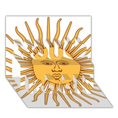 Argentina Sun of May  You Rock 3D Greeting Card (7x5)