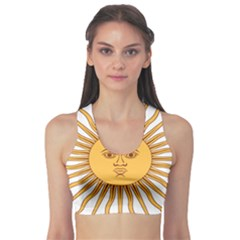 Argentina Sun of May  Sports Bra